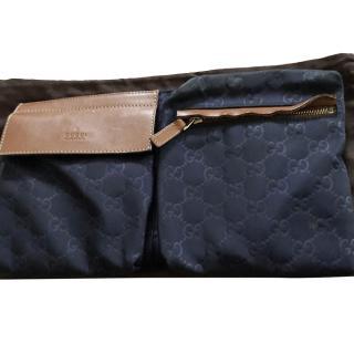 Gucci Blue Monogram Belt Bag