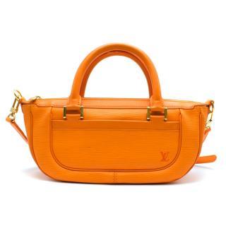 Louis Vuitton Orange Epi Leather Dhanura PM Bag