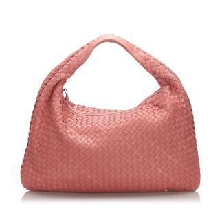 Bottega Vanetta Intrecciato Leather Hobo Bag
