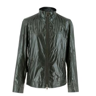 Prada Dark Green Waxed Jacket