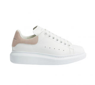 Alexander McQueen runway leather & suede platform trainers
