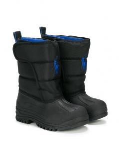 Polo Ralph Lauren Blue & black Hamilten boots