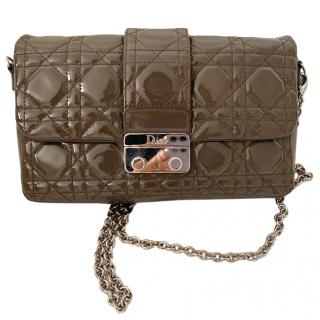 Dior Miss Dior Promenade Patent Leather Bag