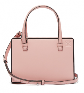 Loewe Postal small leather bag in pink