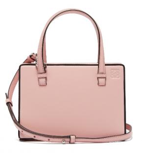 Loewe Postal small leather bag in pink