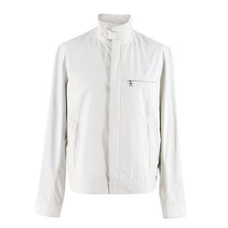 Prada Sport White Waterproof Jacket
