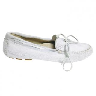 Penelope Chilvers pony hair loafers