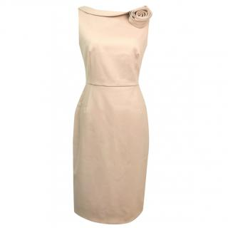 Valentino Technocouture Blush Pink Dress