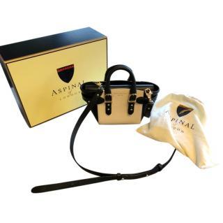 Aspinal of London Two-Tone Mini Crossbody Bag
