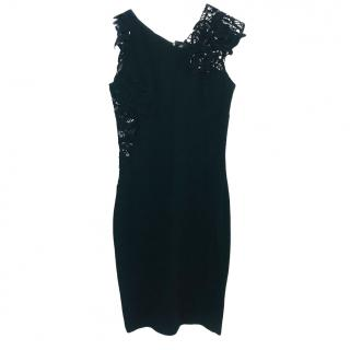 Ermanno Scervino Lace Panelled Asymmetric Dress