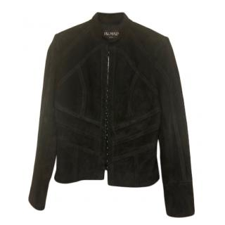 Balmain Black Sheepskin Jacket
