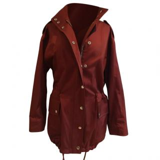 Mulberry Oversize Parka in Rust