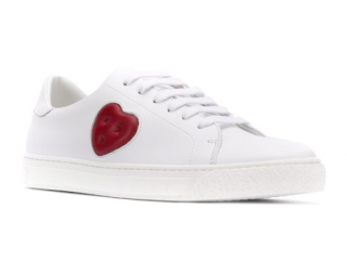 Anya Hindmarch Chubby Heart sneakers