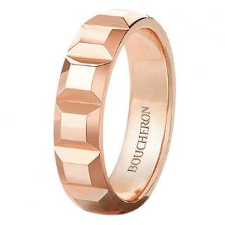 Boucheron Quatre Clou de Paris 18ct rose gold ring
