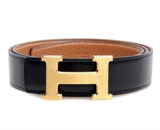 Hermes Constance Reversible H Belt