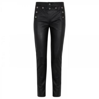 McQ Marine Lace-Up Leather Pants
