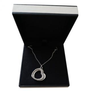 Links of London Double Heart Pendant Necklace