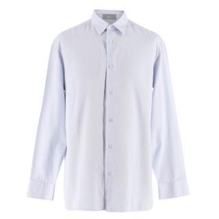 Dior Men's Blue Dress Shirt