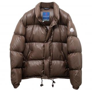 Moncler Grenoble Brown Puffer Jacket