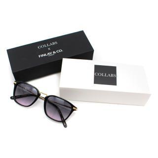 Collabs x Finlay & Co Chiltern Black Sunglasses