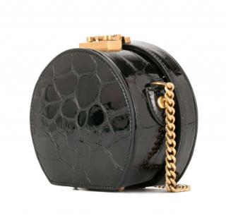 Saint Laurent Patent Leather Mica B Mini Bag