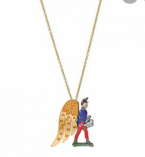 Francesca Vila lJoie de Vivre The Toy Soldier necklace