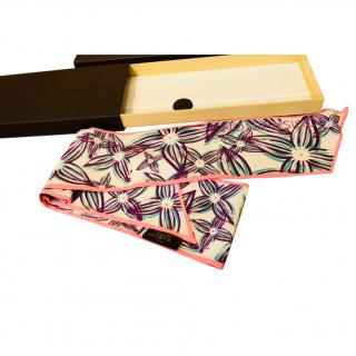 Louis Vuitton Limited Edition Silk Bandeau