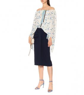 Roland Mouret Pre-Fall '19 Aura stretch-crepe pencil skirt