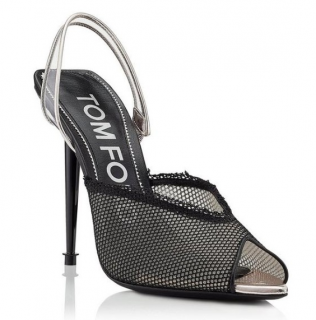 Tom Ford Mesh Slingback Sandals - New Season