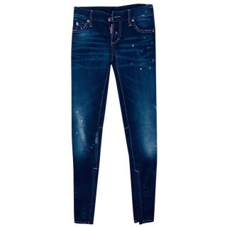 DSqaured2 Distressed Skinny Jeans
