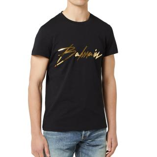 Balmain Men's Signature T-Shirt