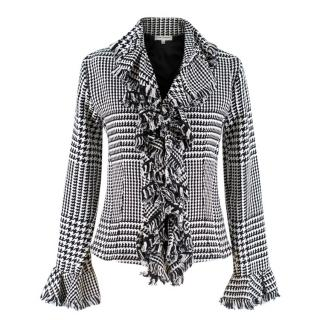Anne Fontaine Black & White Olivia Blazer