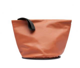 Marni Large Leather 'Tambourine' Pochette