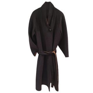 Hermes Cashmere, Wool & Alpaca Reversible Coat