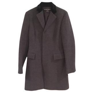 Ralph Lauren Herringbone Tweed Coat