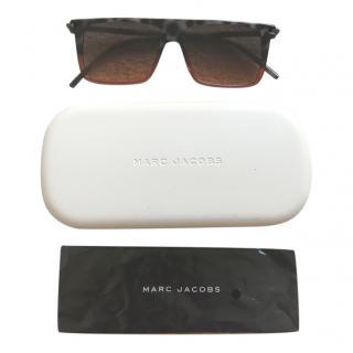 Marc Jacobs Straight Tortoiseshell Sunglasses