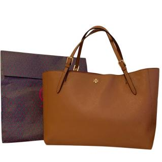 Tory Burch Camel Tote Bag