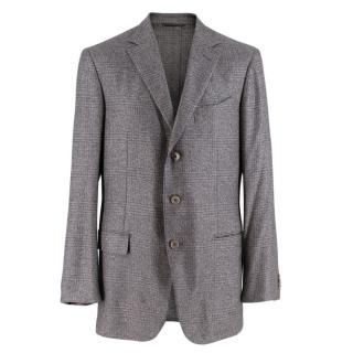 Ermenegildo Zegna Silk & Cashmere Fairway Jacket