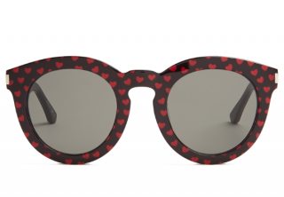 Saint Laurent Heart Print Sunglasses