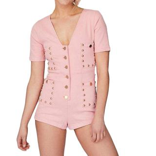 Alice McCall Pink Studded Playsuit