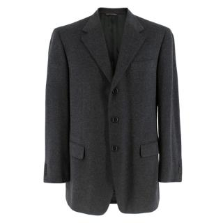 Harrods Wool & Cashmere by Loro Piana Charcoal Jacket