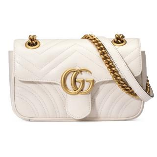 Gucci Marmont metalisse bag