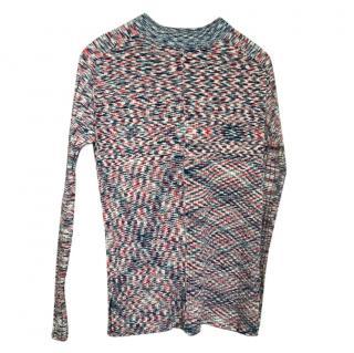 Celine Printed Knit Jumper