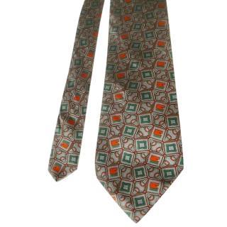 Pierre Balmain Printed Silk Tie