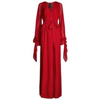 Roland Mouret Swanson Silk Crepe Gown