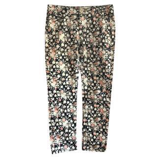 Weekend by Max Mara Floral Print Jeans
