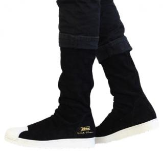 Rick Owens x Adidas Suede Sneaker Boots