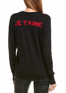 Zadig & Voltaire Happy Je T'aime Wool Sweater
