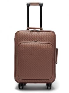 Bottega Veneta Intrecciato Leather Cabin Suitcase