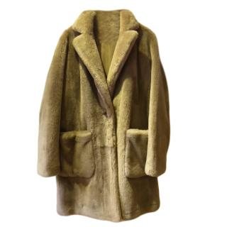 Michael Michael Kors Sheepskin Coat